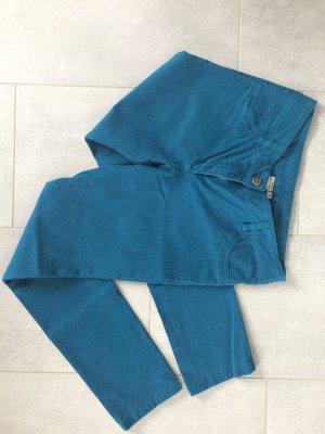 Blue Motion Pantalon en jersey bleu pétrole coton
