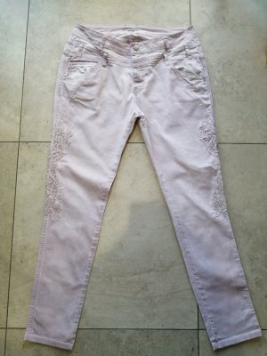 Tredy Pantalone jersey rosa pallido