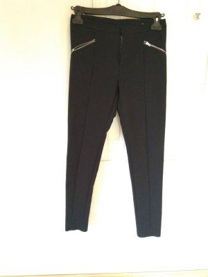 Saint Tropez Pantalón tipo suéter negro