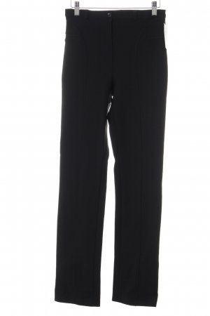 Pantalon en jersey noir élégant