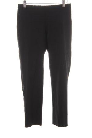 Stoffhose schwarz minimalistischer Stil