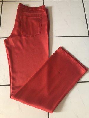 Caractère Pantalón de cinco bolsillos rojo ladrillo