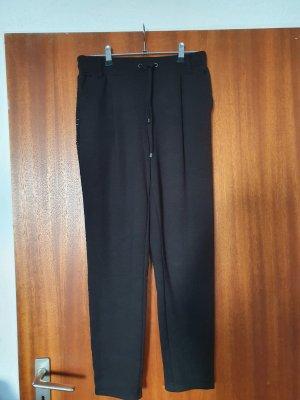 Coccara Pantalone jersey nero
