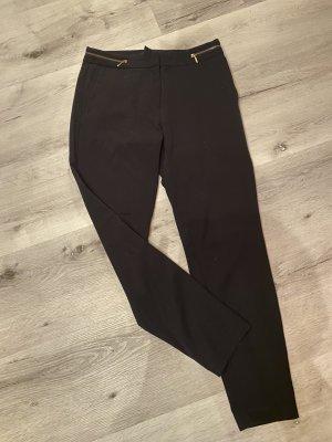 Stoffhose von H&M in schwarz
