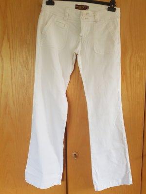 Hollister Pantalone a zampa d'elefante beige chiaro