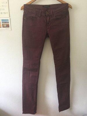 Maison Scotch Jersey Pants brown violet-lilac