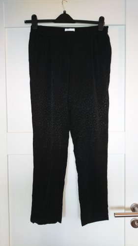 Stoffhose von PROMOD - Leo-Muster Ton-in-Ton - Gr. 36
