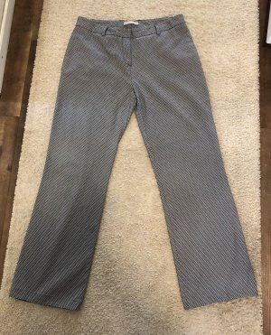 Stefanel Jersey Pants silver-colored