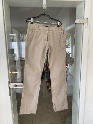 Stoffhose von Tommy Hilfiger, Größe 34, beige