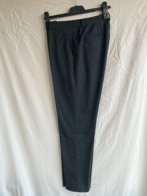 Uniqlo Pantalon 7/8 noir tissu mixte