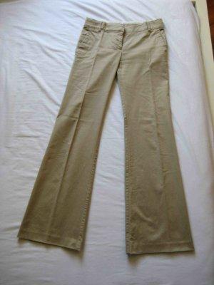 Stoffhose von Zara in beige - casual Business Look