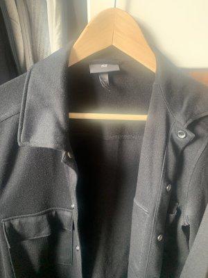 H&M Blouson universitaire noir