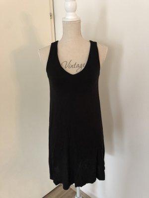 H&M Vestido de tela de jersey negro