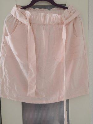 C&A Linen Skirt pink