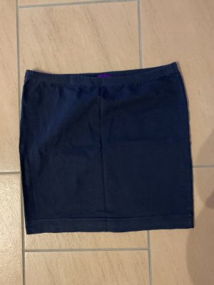 AJC Knitted Skirt dark blue