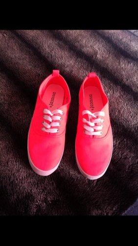 Mary Janes pink-orange