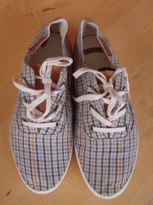 Pull & Bear Zapatos de marinero gris oscuro-marrón arena
