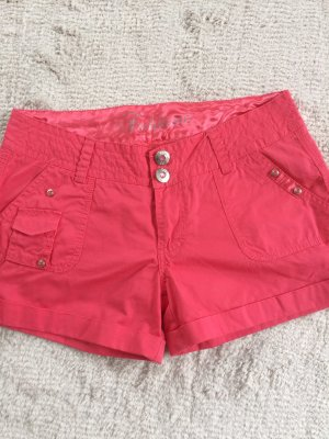 Stoffshorts / pink / Gr. 36
