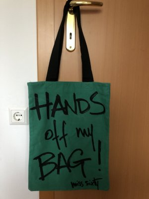 Miss Sixty Canvas Bag black-green