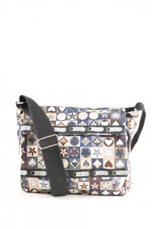 Stofftasche Allover-Druck Casual-Look