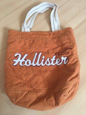 Hollister Sac porté épaule orange-beige clair coton