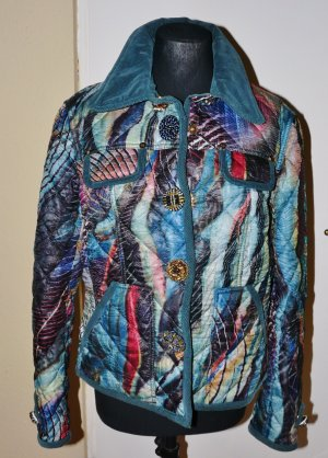 Cappopera Short Jacket multicolored polyester