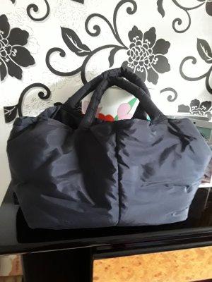 Riani Stoffen tas donkerblauw