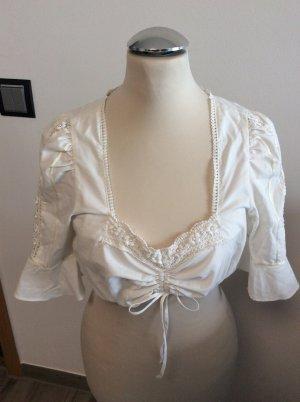 Stoiber Vestido Dirndl blanco puro