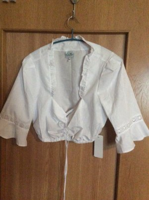Stoiber Folkloristische blouse wit