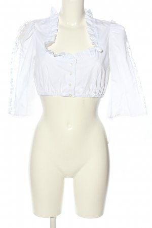 Stoiber Traditional Blouse white casual look