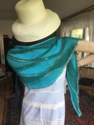 Selbst gemacht Bolero lavorato a maglia multicolore Lana