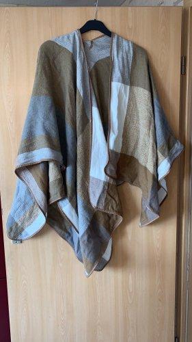 Primark Poncho en tricot brun