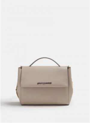 Adolfo Dominguez Crossbody bag oatmeal polyester