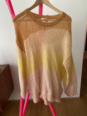 Stine Goya Pullover a maglia grossa multicolore