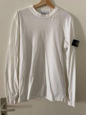 Stone Island Shirt Sweatshirt Longsleeve Stoney Oberteil M Weiß