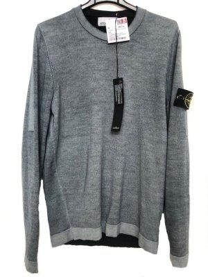 STONE ISLAND - Wollpullover - Gr. S - blau/grau/washed - cool & stylisch ++ NEU ++