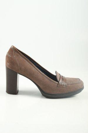 Stonefly High Heels braun Business-Look
