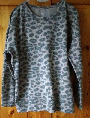 STOOKER Damen Sweatshirt XL  48/50  Leo-Look allover