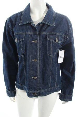 Stooker Jeansjacke blau Casual-Look