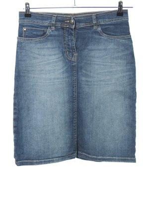 Stooker Denim Skirt blue casual look
