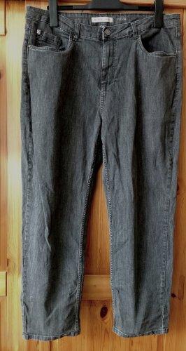 STOOKER NIZZA - Damen Jeans Gr. 48 - Grau/ Anthrazit