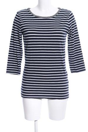 Stooker Ringelshirt schwarz-weiß Streifenmuster Casual-Look