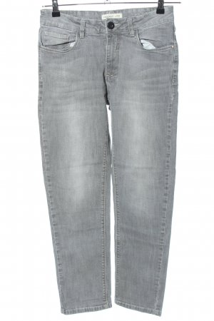 Stooker Straight-Leg Jeans hellgrau Casual-Look