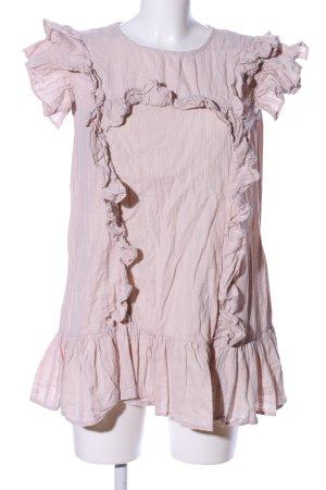 Storets A-Linien Kleid pink Streifenmuster Casual-Look