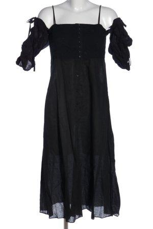 Storets Blusenkleid schwarz Casual-Look