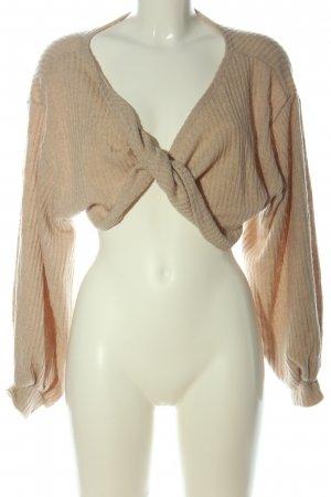 Storets Cropped Pullover creme Zopfmuster Casual-Look