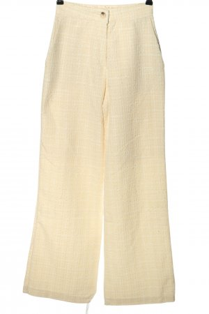 Storets High-Waist Hose creme Allover-Druck Casual-Look