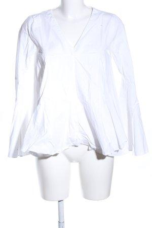 Storets Langarm-Bluse weiß Casual-Look