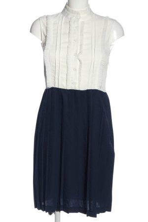 Storets Blusenkleid blau-weiß Elegant