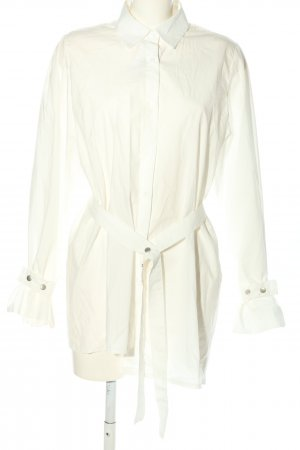 Storets Oversized Bluse weiß Business-Look